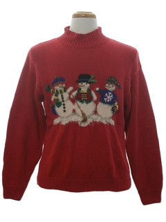 1990's Unisex Vintage Ugly Christmas Sweater