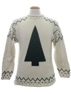 1980's Unisex Minimalist Ugly Christmas Sweater