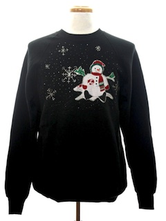 1990's Mens Ugly Christmas Sweatshirt