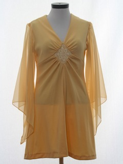 1970's Womens Disco Dress