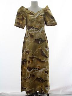 1970's Womens Ethnic Dress