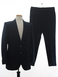 1970's Mens Knit Suit