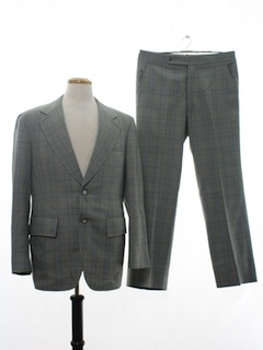 1970's Mens Mod Disco Suit