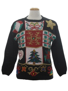 Christmas Decoration Themed Ugly Christmas Sweaters at ...