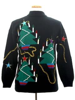1980's Unisex Designer Vintage Ugly Christmas Sweater