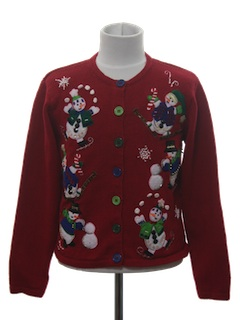 1980's Unisex Boys or Girls Ugly Christmas Sweater