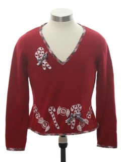 1990's Womens or Girls Ugly Christmas Sweater