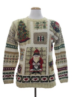 1990's Unisex Country Kitsch Ugly Christmas Sweater