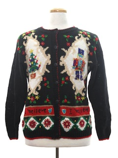 1990's Womens Ugly Christmas Sweater