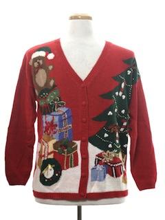 1990's Unisex Ugly Christmas Cardigan Sweater