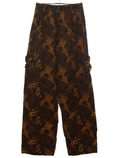 1980's Unisex Baggy Hippie Pants