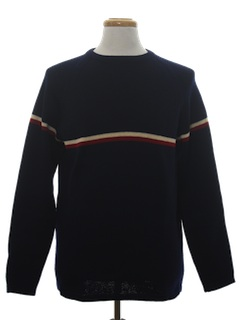 1970's Mens Wool Ski Sweater