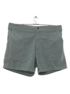 1980's Mens Totally 80s OP Style Corduory Shorts
