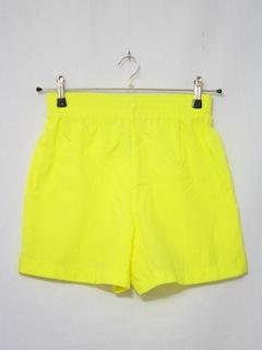 1980's Unisex Neon Sport Shorts