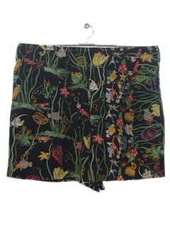 1980's Unisex Hawaiian Shorts