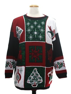 1980's Unisex Vintage Ugly Christmas Sweater