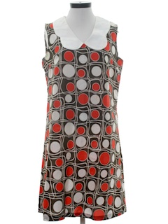 1960's Womens Summer Sizzle Dress