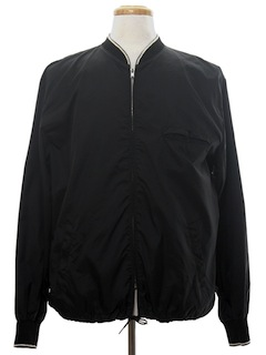 1960's Mens Zip Windbreaker Jacket