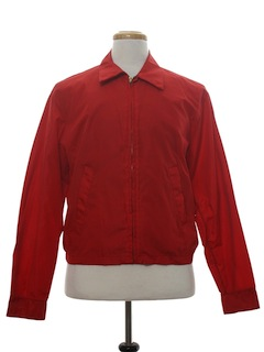 1960's Mens Nylon Zip Jacket