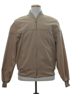 1970's Mens Zip Golf Jacket