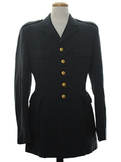1960's Mens Swedish Military Jacket