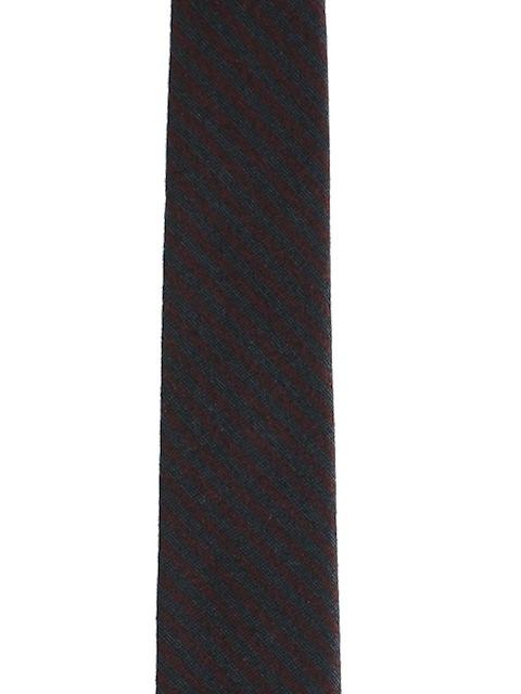 1960's Mens Mod Skinny Black Necktie