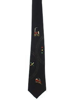 1970's Mens Rail Engineers Necktie