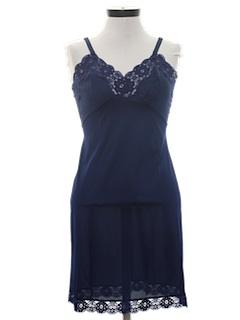 1960's Womens Lingerie Slip Mini Dress