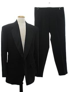 1990's Mens Tuxedo Suit