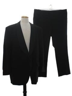 1970's Mens Tuxedo Suit Jacket