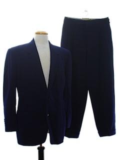 1950's Mens Mod Tuxedo Suit