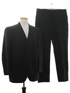1960's Mens Designer Mod Suit