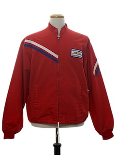 1960's Mens Mod Flight Racing Jacket