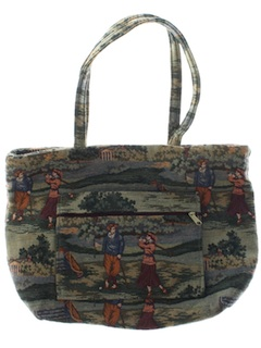 1980's Womens Accessories - Tote Bag Purse
