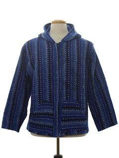 1990's Unisex Baja Hippie style Jacket