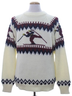 1960's Mens Ski Sweater