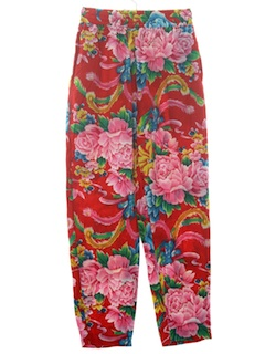 1990's Womens Wicked 90s Print Baggy Pants