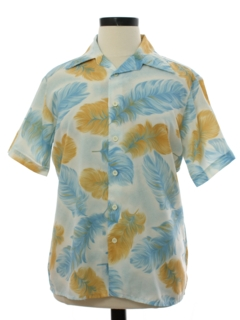 1970's Mens Disco Shirt