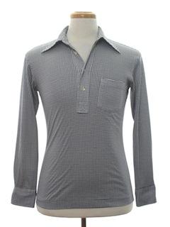 1970's Mens Pullover Shirt