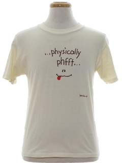 1980's Unisex Cheesy T-Shirt