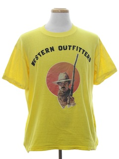 1980's Unisex Cheesey Western T-Shirt