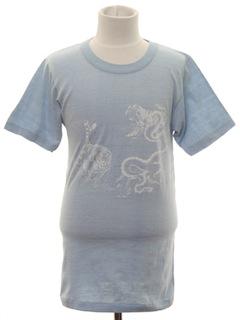 1980's Unisex Animal Print T-Shirt