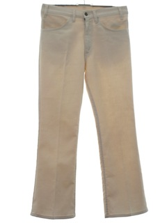 1970's Mens Flared Jeans Cut Pants