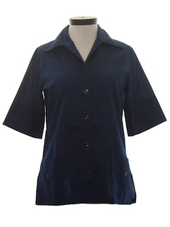 1970's Womens Work Shirt