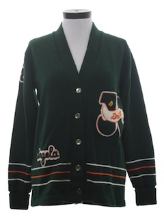 1980's Womens Cardigan Sweater