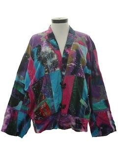 1990's Womens Wicked 90s Hippie Jacket