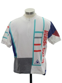 1980's Mens Totally 80s Sport/Cycling T-Shirt