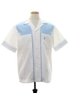 1970's Mens Mod Hawaiian Shirt Jac