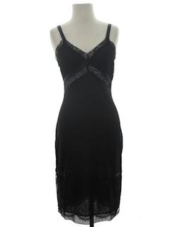 1960's Womens Lingerie Slip