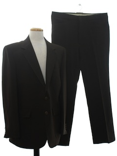 1970's Mens Sharkskin Disco Suit